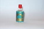 eau de cologne hauteur 5.7 cm plein bouchon lisse de 4711