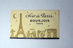 Photo©- Carte parfumée Soir de Paris de Bourjois prix = 1 €