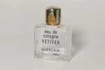 Photo © - Miniature Eau de Vétiver  de Guerlain prix = 2 €
