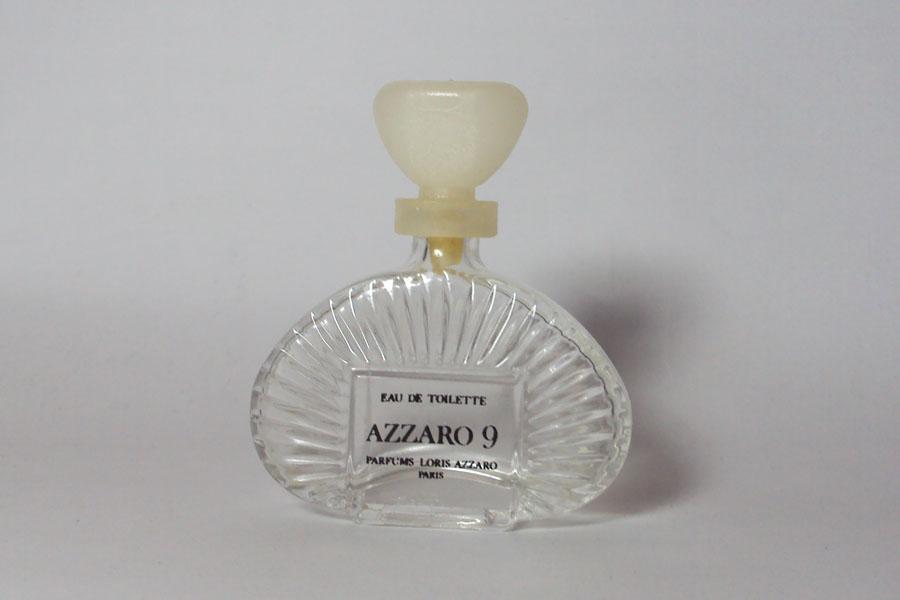 Azzaro 9 Vide eau de toilette hauteur 5.2 cm de Azzaro