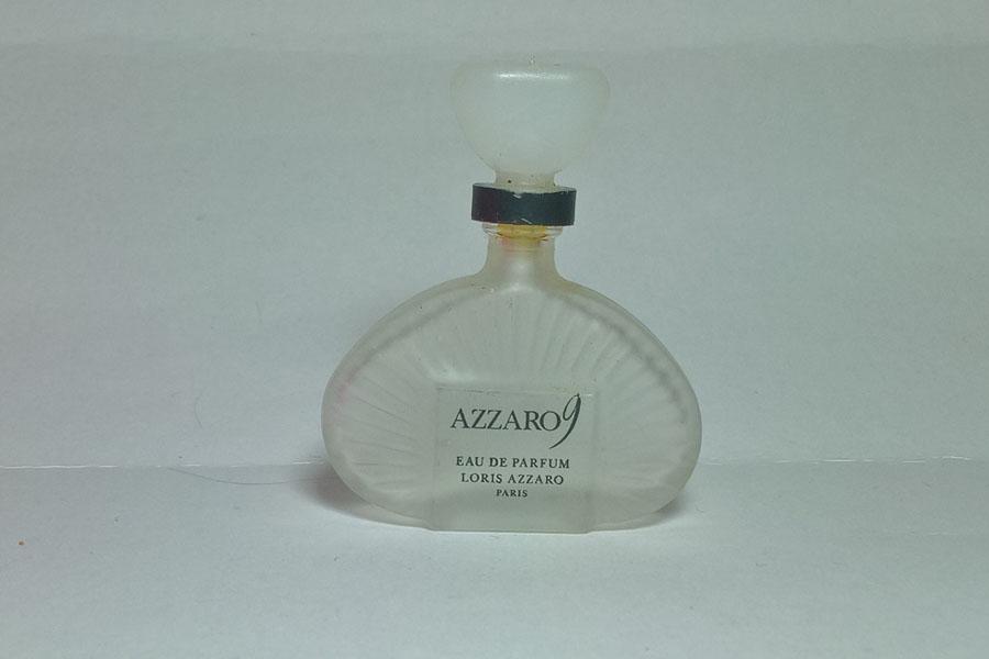 Azzaro 9 Eau de parfum Eau de parfum hauteur 5 cm vide de Azzaro